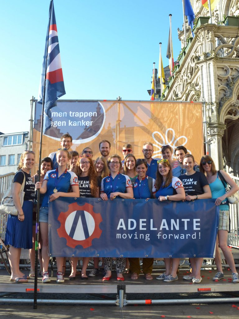 Dag 4: Team Adelante en supporters